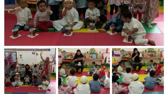 Jelang Back To Home Schooling, Peserta Didik KB, TK Islam PB Soedirman Tetap Kedatangan Tamu Istimewa