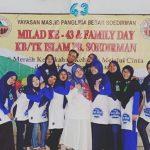 Kebahagiaan Acara Milad Ke 43 KB, TK Islam PB Soedirman, Anak Yatim Pun Ikut Bahagia