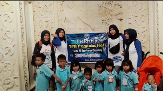 Kunjungan Edukatif KB, TPA Islam PB Soedirman Ke Jakarta Aquarium