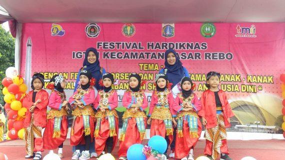 Peserta Didik TK B Islam PB Soedirman Mengikuti Porseni Loketa Tingkat Kecamatan dan Berprestasi