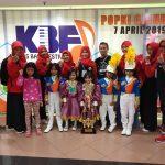 Tim Drumband Gita Bahana TK Islam PB Soedirman Mendapatkan Penghargaan di Kids Band Festival Piala Presiden 2019