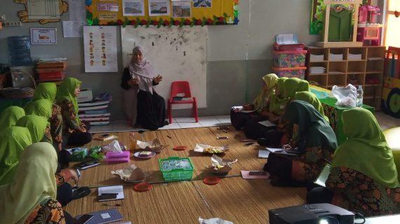 Pelatihan, Penguatan dan Simulasi Sentra KB, TK Islam PB Soedirman.